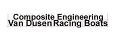 Composite Engineering Van Dusen Racing Boats